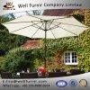 Parasol gris-clair traditionnel de la garantie du constructeur bon de Furnir