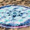 卸売の100%年の綿の円形の印刷されたビーチタオル