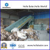 Horizontal auto Waste Paper Baler Machine para Recycling Plant