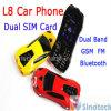 1.5 인치 스크린 L8 차 이동 전화 듀얼-밴드 지원 이중 SIM 카드