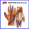 PU покрыл трудные защитные перчатки работы Guantes (PU 10021)
