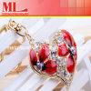 패션 악세사리 빨간 수정같은 심혼은 매혹한다 Keychain (MLW-050514-234)를