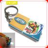 Custom Cheap Gift Soft PVC Keychain with LED (M108)