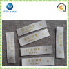 그것에 Gold Woven를 가진 주문 Printed White Woven Label (JP-CL023)