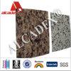 Marmorbeschaffenheit PET zusammengesetztes Wand-Aluminiumfassadenelement