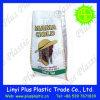 Sac tissé par pp de plastique pour le riz d'emballage/farine de blé