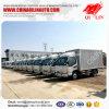 4t de lichte Vrachtwagen van de Lading van de Doos van de Plicht met Airconditioner voor Verkoop