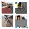 Bunter Asphalt-Dach-Schindel für Protokoll-Kabine
