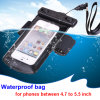 Heißes New PVC Water Proof Fall Waterproof Phone Bag für All Phones