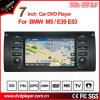 Windows Ce Car DVD Player para BMW 5 Series GPS Tracker com navegação GPS Hualingan