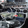 Gvif 던지기 스크린 Youtube Waze를 가진 06-11 Jaguar를 위한 인조 인간 5.1 GPS 항법 상자 영상 공용영역 Xf Xk Xj etc.