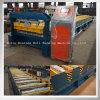 Azulejo de azotea de acero del color de aluminio del metal que hace la máquina para la venta