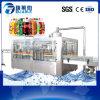 Máquina de rellenar suavemente carbonatada automática modificada para requisitos particulares de la bebida de la botella del animal doméstico
