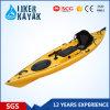 Pesca de Kayak de mar de plástico, canoa para la pesca, kayak con paleta
