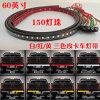 Indicatore luminoso flessibile rosso o bianco/rosso/di colore giallo di bianco/5-Function LED striscia dello sportello posteriore della barra del freno di segnale per il camioncino scoperto SUV (60 pollici)