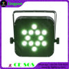 12X10W RGBW Stage Controle Remoto Battery PAR LED