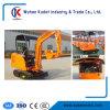 mini excavatrice de la mini chenille 1700kg hydraulique