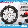 Tipo universal correntes de neve reusáveis das correntes de pneumático de TPU