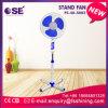 Ventilateur de stand de la base 16 de croix d'appareil ménager '' avec le coût bas
