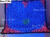 A8809/8FT X8FT Pitch9cm LED Bewegung drapieren,/videovorhang,/Stern-Vorhang-,/Hochzeits-Dekoration/Bildschirm für DJ-Stand/bewegliches Stadium