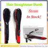 新しいブランドの陶磁器の毛のストレートナのブラシの鉄の電気まっすぐになるヘア・ブラシ