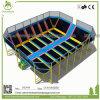 Ce/TUV/ASTM/ISO9001 délivre un certificat le stationnement d'intérieur bon marché de tremplin