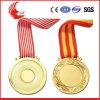 Médaille neuve faite sur commande de lanière en métal de vente en gros de modèle