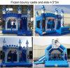 Eis-Palast-aufblasbares Schloss, gefrorenes springendes Schloss für Kinder