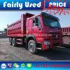 使用された375HPダンプの卸売によって使用されるSinotruk HOWOのダンプカートラック