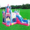 Princesa Inflável Bouncy Castelo, castelo da princesa Inflatabe Salto Casa Jumping