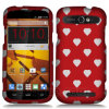 Сердце Design Snap на Protector Hard Case Cover для Sync N9515 Zte Warp
