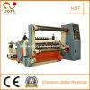 Máquina que raja el rebobinar del eje del rodillo doble del papel