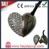 Impulsión cristalina del flash del USB del diamante del metal de la forma del corazón (HD-739)