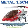 De nieuwe/Hete Helikopter van de Controle van Radio Remote - 3-kanaal Versie van de Gyroscoop van het Stuk speelgoed van de Helikopter RC van het Metaal de Mini (RPC80808)