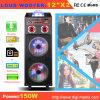 Altoparlante portatile con l'indicatore luminoso dell'altoparlante LED del microfono di Bluetooth della batteria