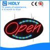 Hidly 타원형 실내 LED 열려있는 표시