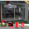 UPVC Portas e janelas com bala, portas plegáveis para quintal de vinil