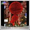 크리스마스 Dacoration 상점 또는 시장 빨간색 휴일 빛 3D 주제 공