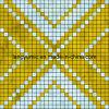 Роскошное золото & серебристая нержавеющая мозаика металла (LY-MX223)