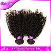 8Aモンゴルのねじれた巻き毛のバージンの毛の束の取り引きのモンゴルのねじれたカーリーヘアー、モンゴルのアフリカのねじれた巻き毛のバージンの毛の人間の毛髪