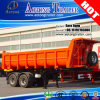 2 차축 U Type Rear Dump Semi Truck Trailer 또는 Tipper Trailer