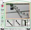 Raupe-Wasserfall-hängender Bildschirmanzeige-Haken des Haken-Fabrik-Metall7