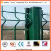 溶接された機密保護の金網の塀に吹きかけるPVC