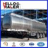 42000 litros de aluminio de la aleación de la gasolina de petróleo del tanque de acoplado del carro