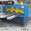 Rolo do Decking do piso de aço de Dixin 720 que dá forma à máquina