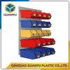 Gute Qualitätsan der wand befestigtes mit Luftschlitzenpanel mit Plastikvoorratsbehältern