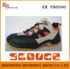Sapatas de segurança resistentes químicas à moda RS708 do tempo de trabalho