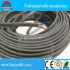 PVC Insulated e Sheathed Electric Flat Cable BVVB Earth Wire do Cobre-Cored