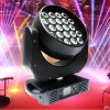 1 Zoom LED Moving HeadかWasher Stage Lightに付き36X15W Rgbwy紫外線5