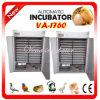 Incubateur automatique commercial approuvé d'oeufs de canard de la CE